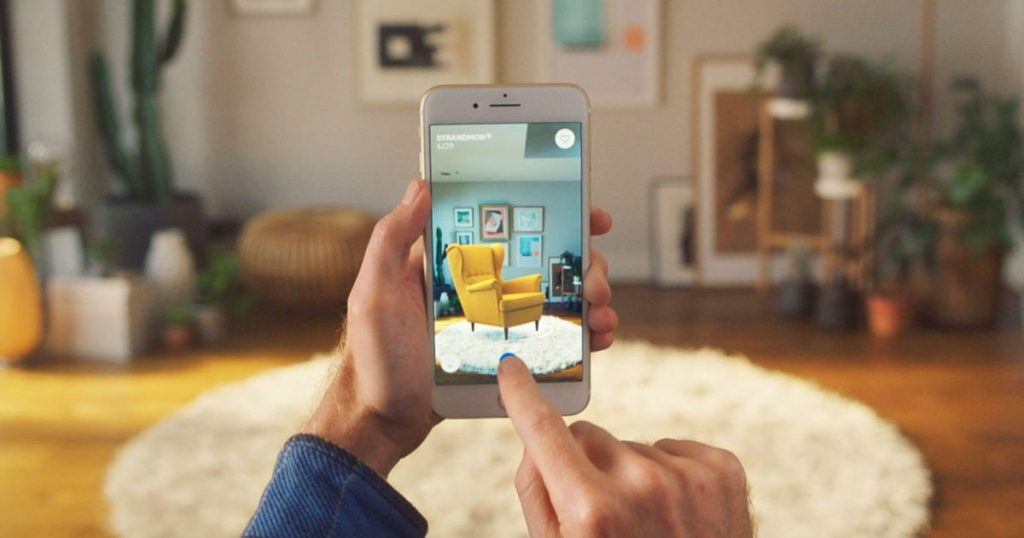 ikea app 2 1024x538 - Ikea lanza aplicación que permite amueblar espacios virtualmente