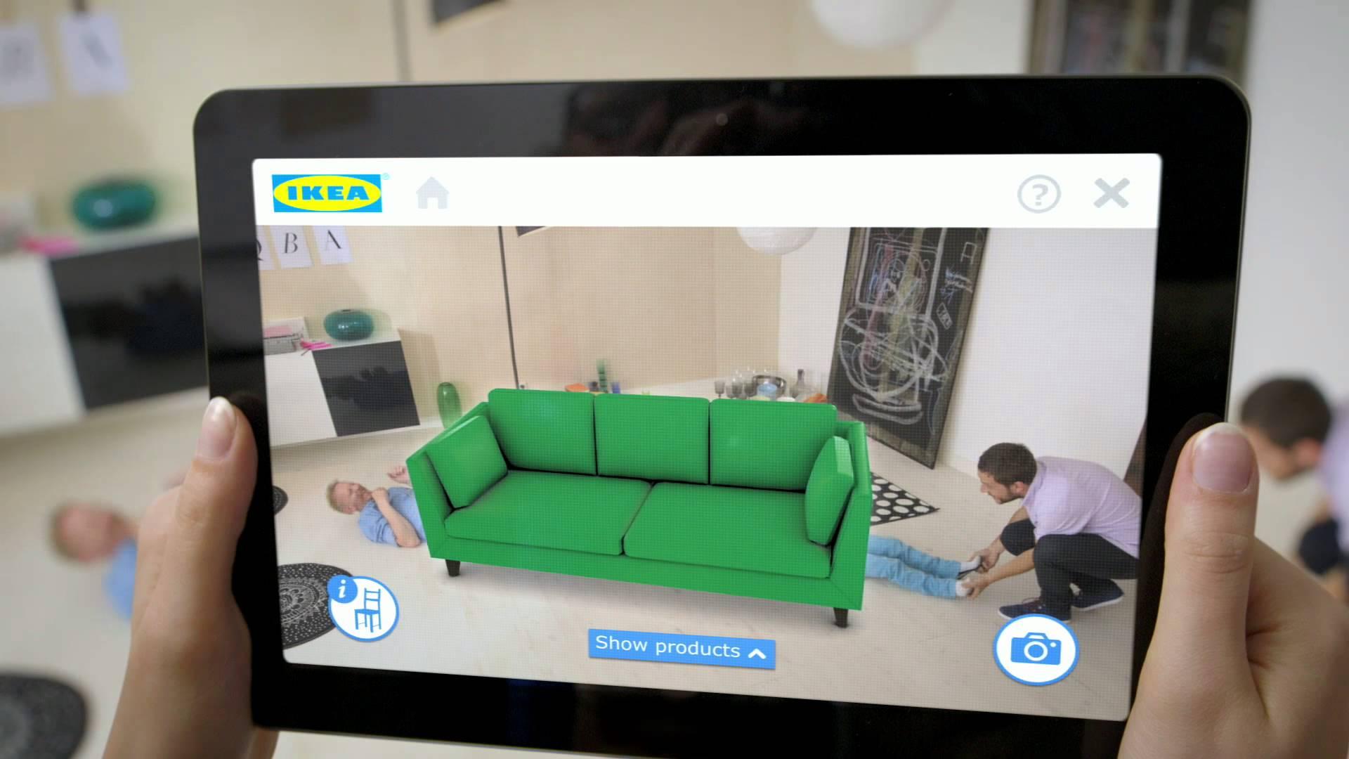 ikea app - Ikea lanza aplicación que permite amueblar espacios virtualmente