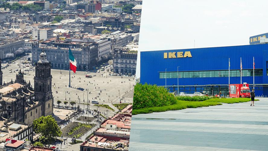 ikea del tamaño del zócalo de la ciudad de méxico - Ikea abrirá su primera tienda en la Ciudad de México y será del tamaño de su Plaza