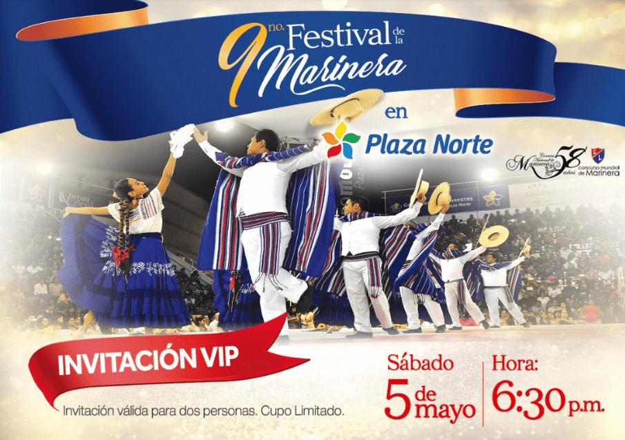 image 2 - Plaza Norte llevará a cabo IX Festival de la Marinera