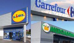 imagen de lidl y mercadona 240x140 - Lidl, Carrefour y Mercadona son las cadenas más destacadas de España