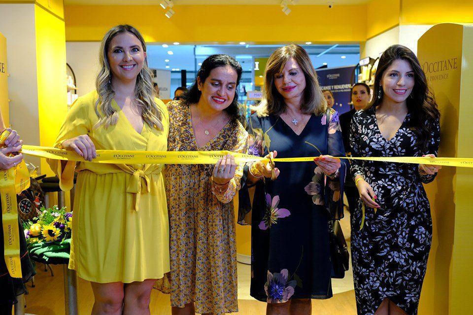 inauguración Loccitane - La marca de productos de belleza, L'Occitane, aterriza en Bolivia