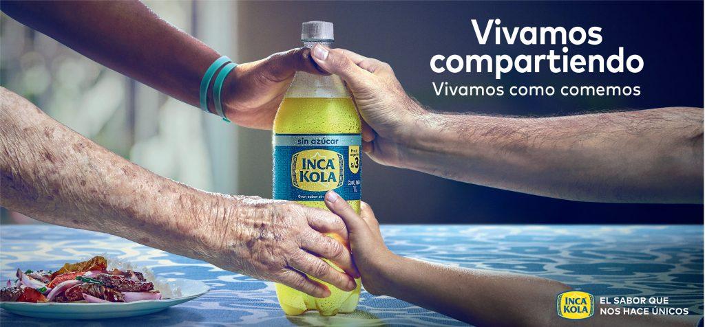 """inca compartiendo 1024x476 - Inca Kola: """"Vivamos como comemos"""""""