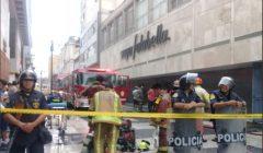 incendio saga falabella 240x140 - Perú: Bomberos controlan incendio en Saga Falabella del Jr. de la Unión