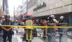 incendio saga falabella 248x144 - Perú: Bomberos controlan incendio en Saga Falabella del Jr. de la Unión