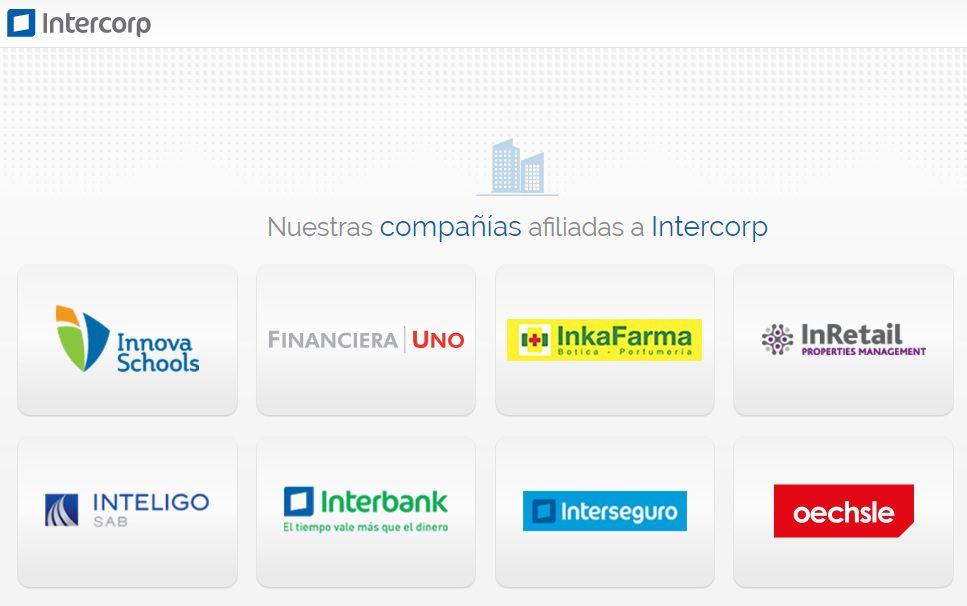 intercorp compañias - Utilidad de Intercorp se redujo en S/ 10 millones durante el 2016