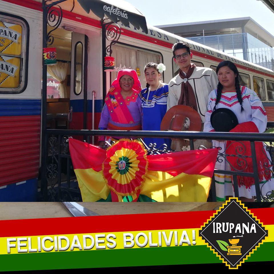 irupana cafetería 2 perú retail - Bolivia: La cafetería que atiende en vagones de tren planea expandirse