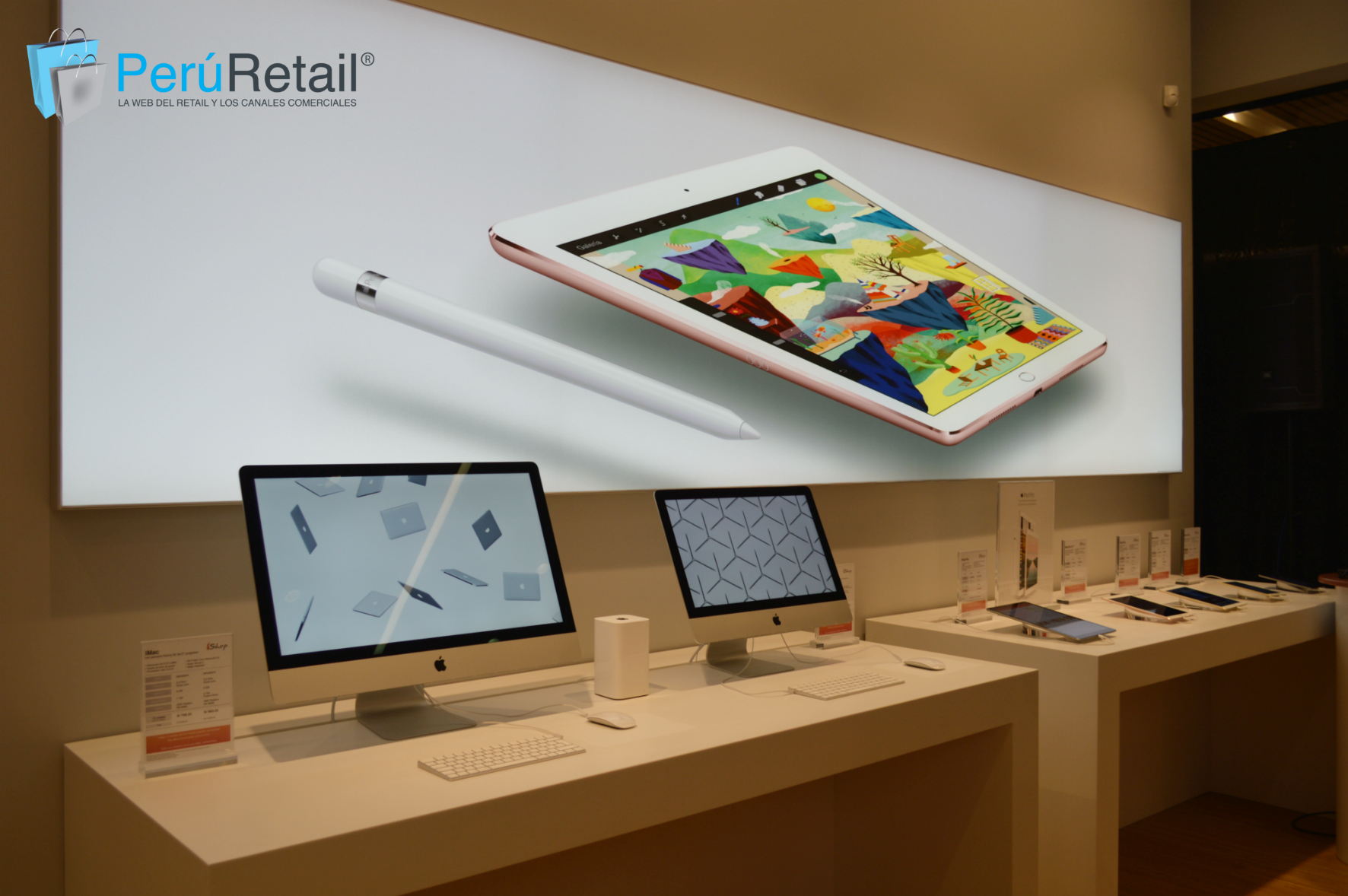 ishop 17 - iShop abriría tiendas de formato pequeño en malls peruanos