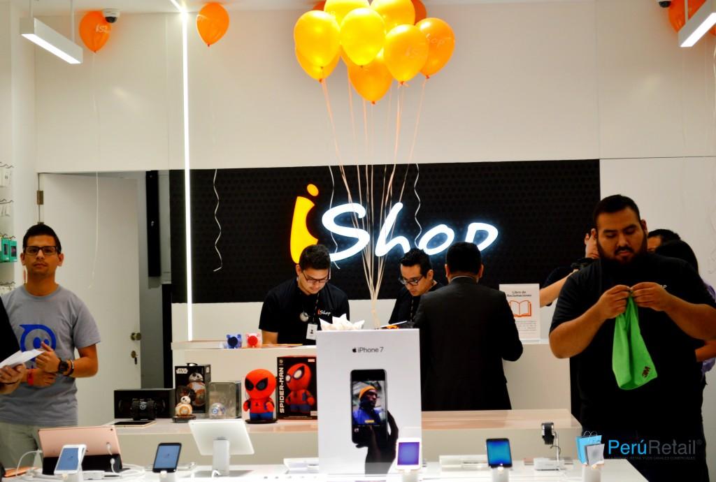 ishop 41 peru retail 1024x690 - iShop prevé abrir entre dos y cuatro tiendas más en lo que resta del año en Perú