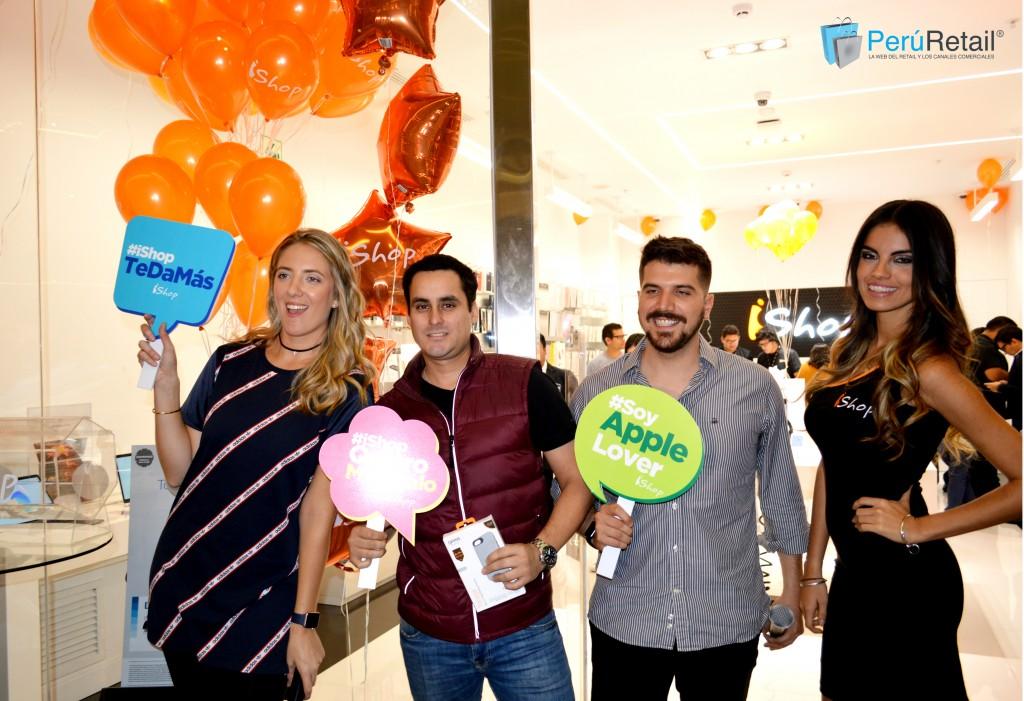 ishop 51 peru retail 1024x701 - iShop prevé abrir entre dos y cuatro tiendas más en lo que resta del año en Perú