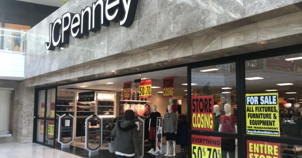 jcpenney store closing
