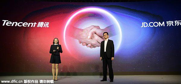 jd.com y tencent - Tencent y JD.com compran participación del retailer chino Better Life