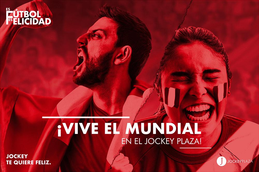 jockey mundial - Jockey Plaza lanza campaña #EsFútbolEsFelicidad