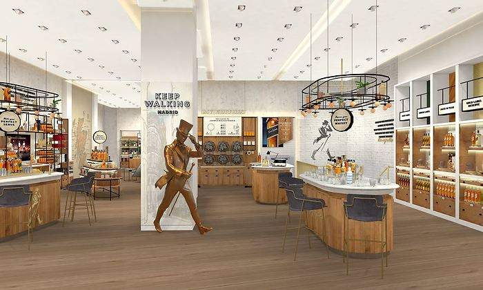 johnnie walker flagship 2 - España: Diageo abrirá tienda de su marca Johnnie Walker