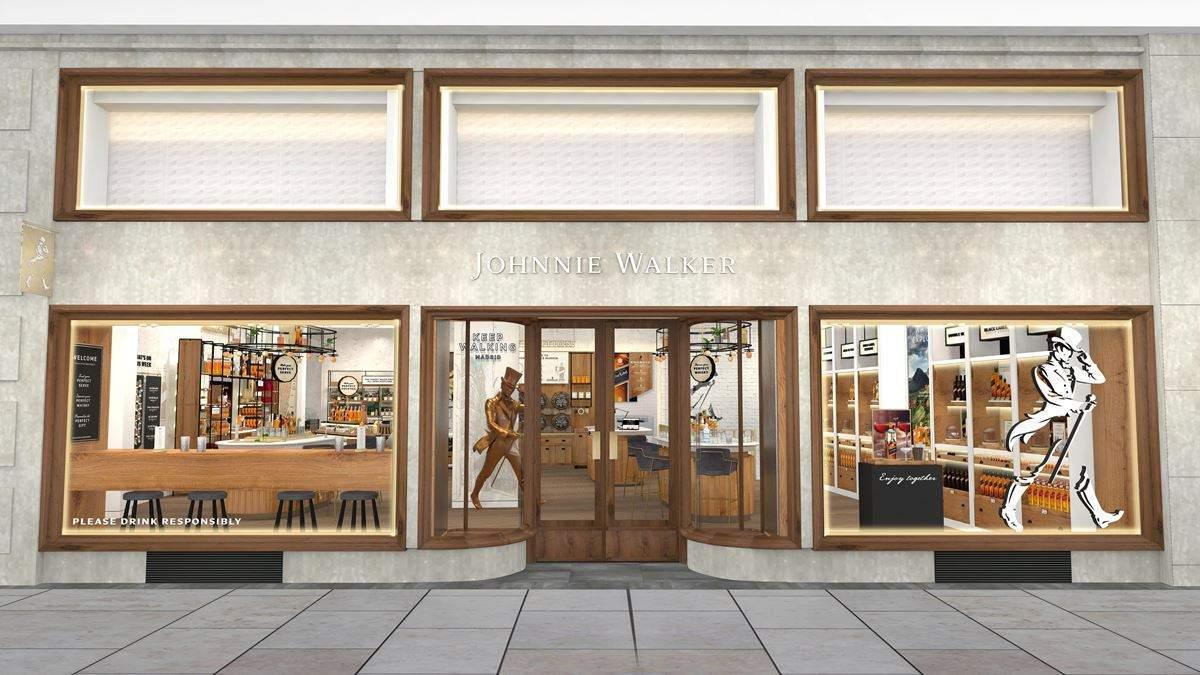 johnnie walker flagship store - España: Diageo abrirá tienda de su marca Johnnie Walker