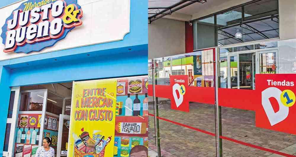 justo bueno d1 - Colombia: ¿Cuáles son las dos principales tiendas de descuento duro?