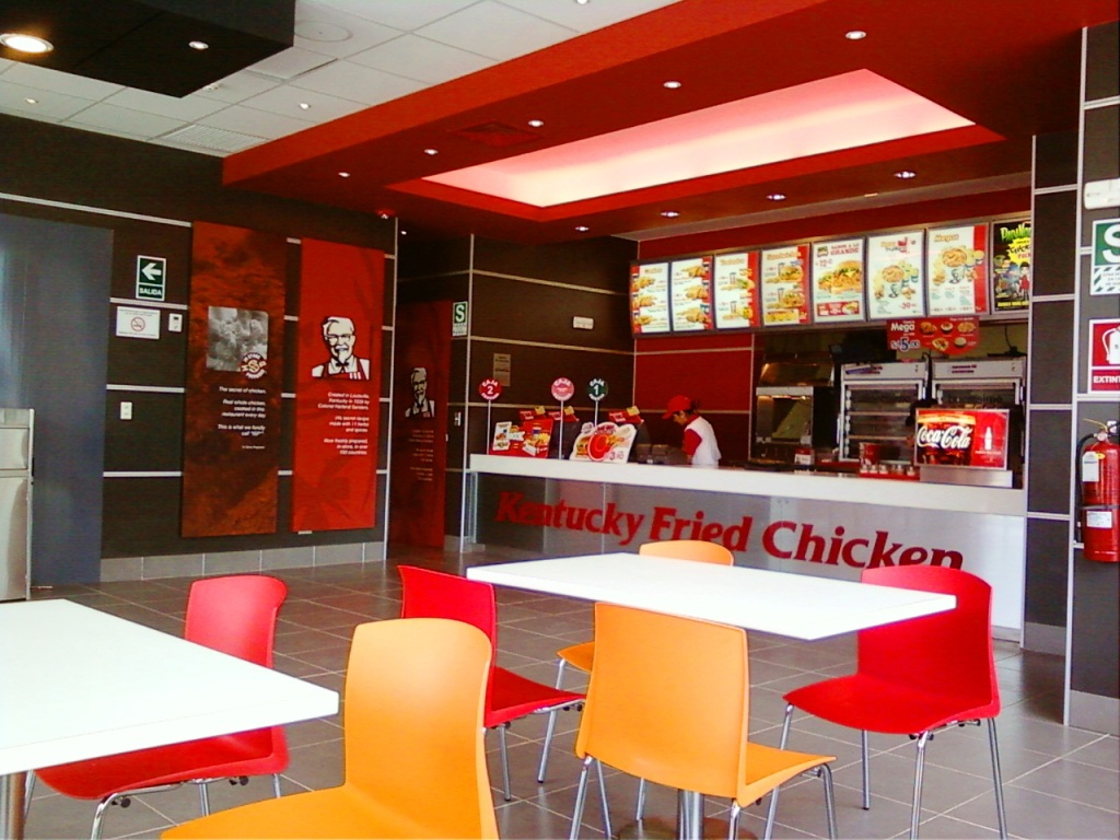 kfc trux1 - Miraflores y Surco son los distritos con más locales de fast food en Lima