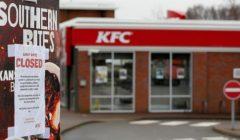 kfccerrado 240x140 - KFC cierra más de 700 restaurantes en Reino Unido por escasez de pollo