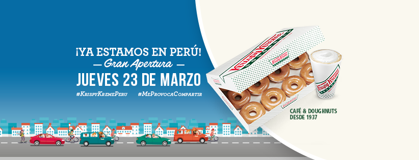 krispy kreme peru - Krispy Kreme abrirá la tienda más grande del mundo en el Perú