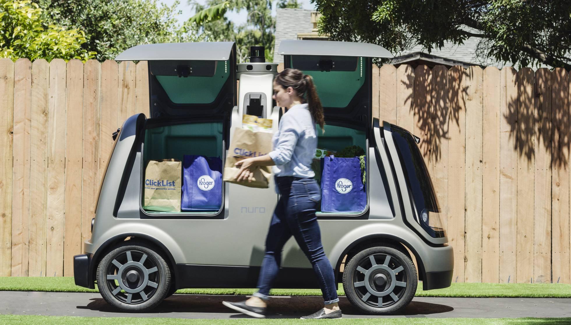 kroger auto free - Estados Unidos: Kroger pone a prueba entregas con vehículos autónomos