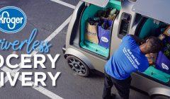 kroger driverless delivery 240x140 - Estados Unidos: Kroger pone a prueba entregas con vehículos autónomos