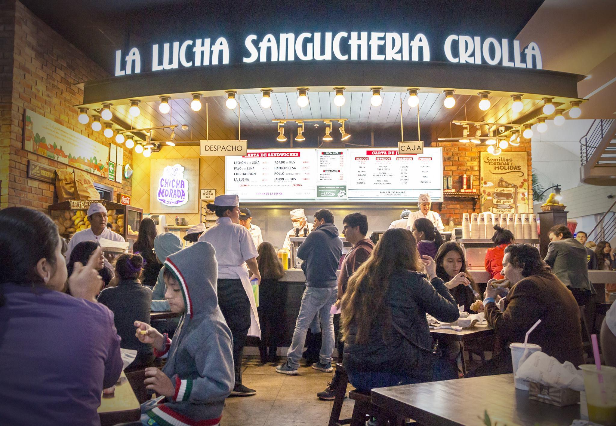 la lucha peru 3 - La Lucha Sanguchería abrirá sus primeros locales en Colombia
