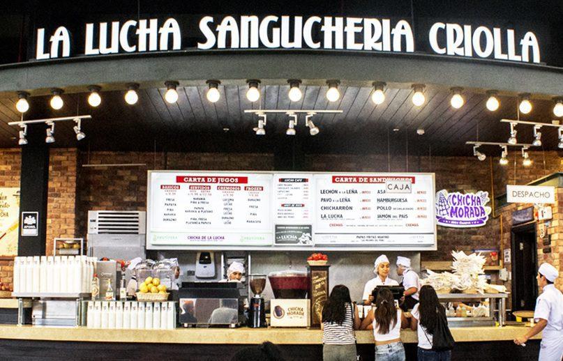 la lucha - La Lucha Sanguchería planea abrir seis locales en malls de Chile