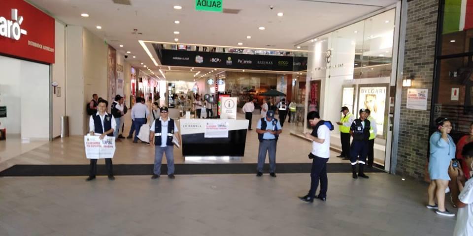 """la rambla de la brasil - La Rambla de Brasil: Reabren centro comercial tras cierre temporal por """"medidas de seguridad"""""""