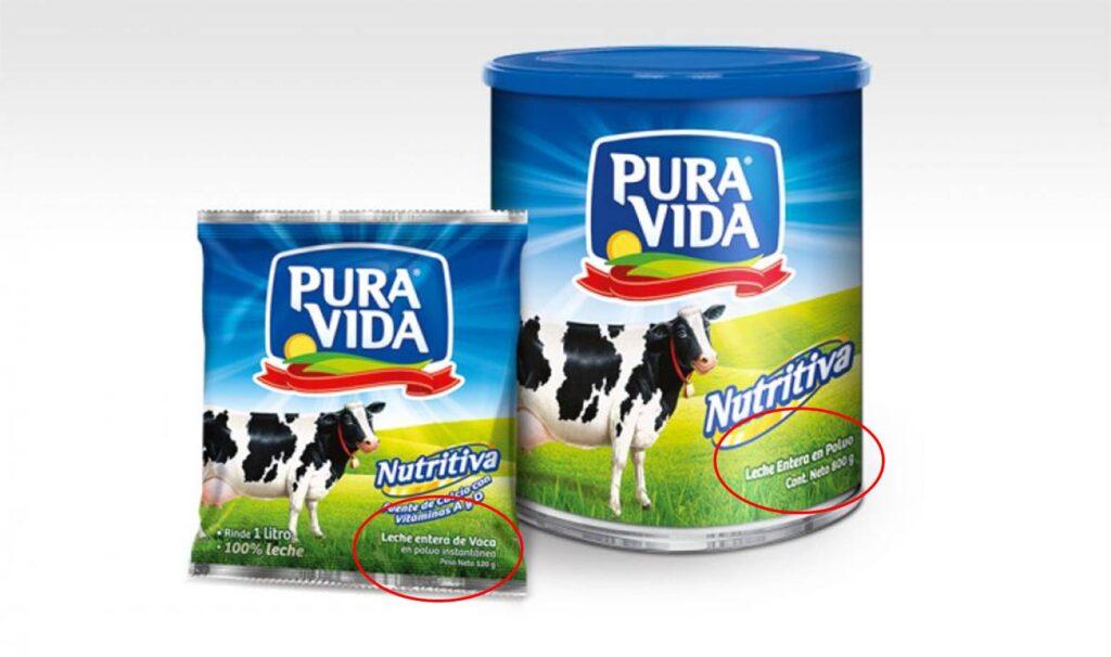 leche Pura Vida Perú Retail 1024x606 - La lista roja que pesa sobre 6 productos del grupo Gloria