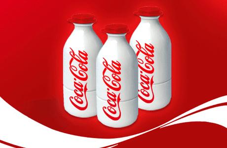 leche cocacola - Coca Cola añadiría lácteos y bebidas calientes a su portafolio
