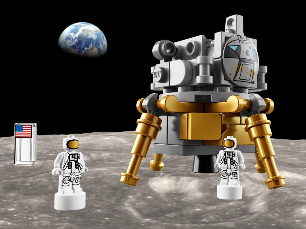 lego NASA Apolo Saturno V 2