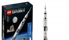 lego NASA Apolo Saturno V 240x140 - Lego presenta su nuevo cohete 'NASA Apolo Saturno V'