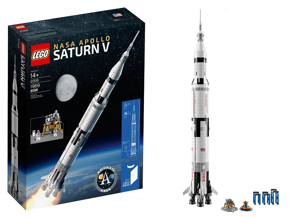 lego NASA Apolo Saturno V - Lego presenta su nuevo cohete 'NASA Apolo Saturno V'