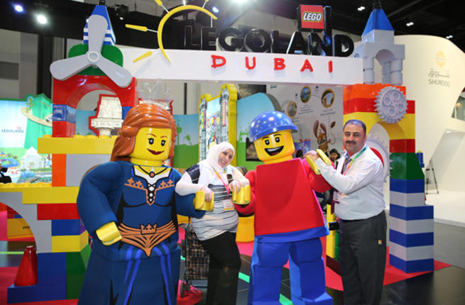 legoland dubai - Parque temático Legoland abrió sus puertas en Dubai
