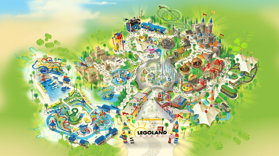 legoland parque tematico - Parque temático Legoland abrió sus puertas en Dubai