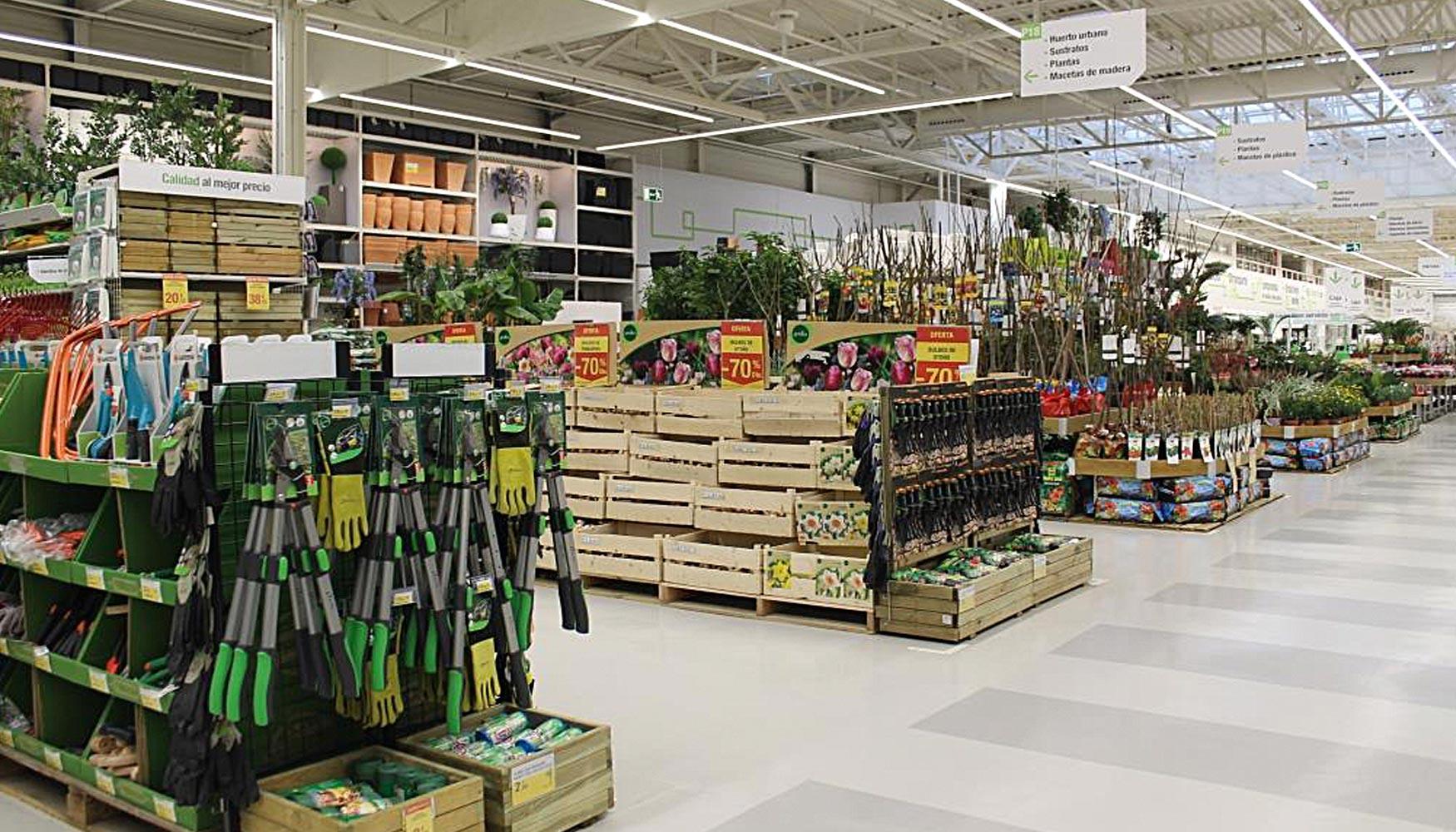 Leroy merlin prev abrir 31 nuevos locales en espa a hasta for Plantas decorativas en leroy merlin