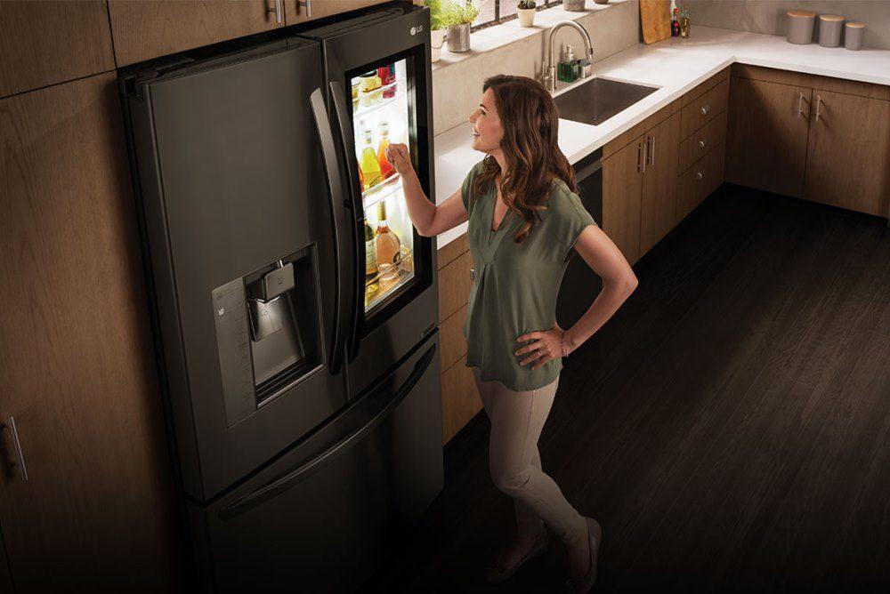 lg instaview fridge - LG desarrolla refrigeradoras inteligentes