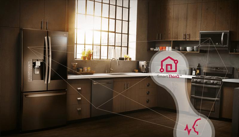 lg smart compatible plataformas amazon alexa google assistant - LG desarrolla refrigeradoras inteligentes