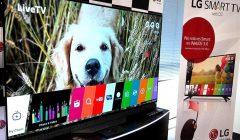 lg televisores super uhd tv oled tv 4k 240x140 - LG presentó nueva línea de televisores con inteligencia artificial