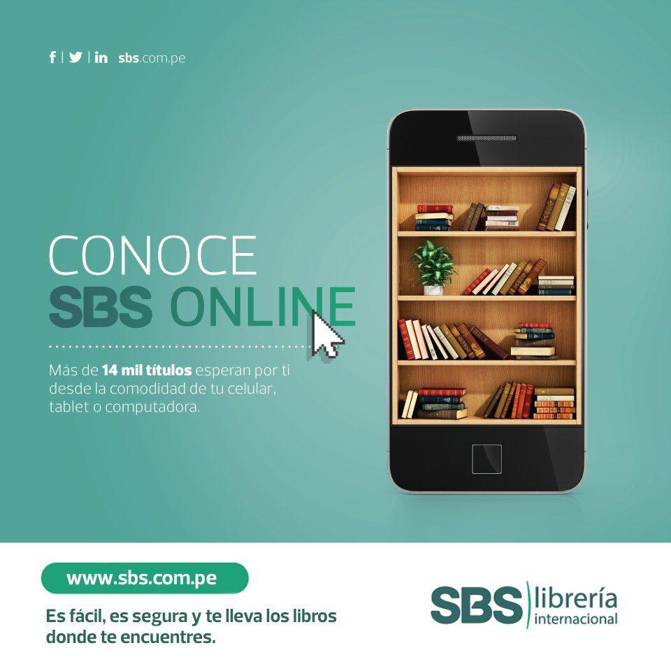 libreria sbs online foto - Librería SBS registra ventas de casi S/1 millón de su tienda online