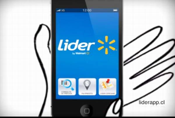 lider app - Chile: Walmart pone a prueba tienda al mismo estilo de Amazon Go