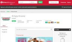 lima delivery krispy kreme 240x140 - Krispy Kreme lanza servicio de envíos a domicilio a través de LimaDelivery