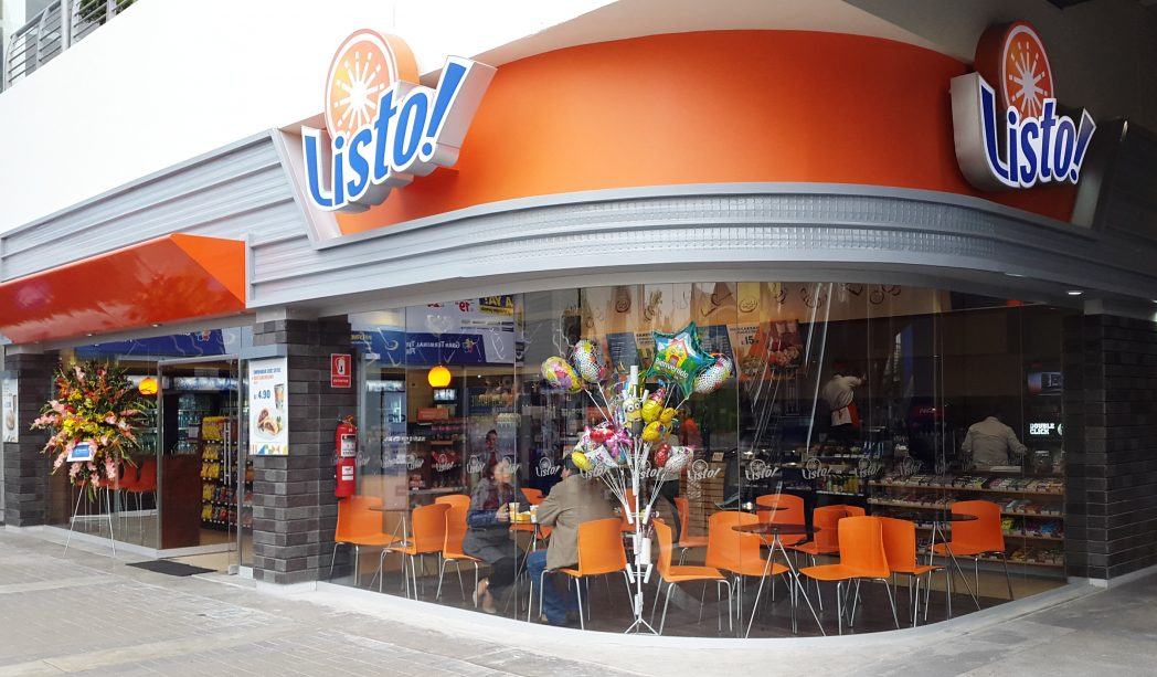 listo plaza norte - Las tiendas de conveniencia incursionan con fuerza en Chile y Perú