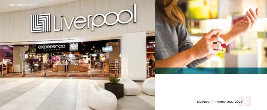 liverpool mexico 2016 1024x423 - Liverpool alcanzó las 118 tiendas departamentales durante el 2016 en México