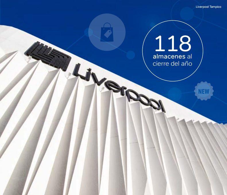 liverpool tampico - Liverpool alcanzó las 118 tiendas departamentales durante el 2016 en México