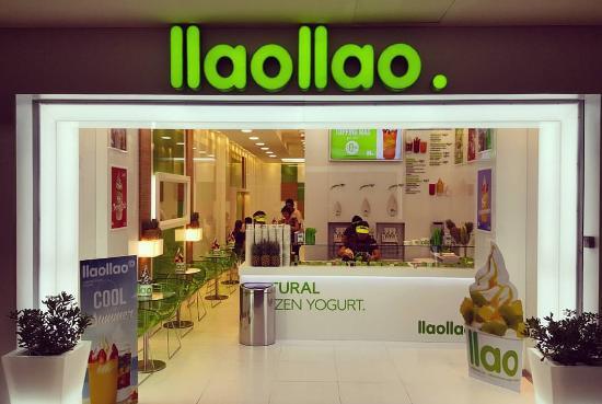 llaollao - Marca española de helado de yogur 'Llaollao' ingresa a Ecuador