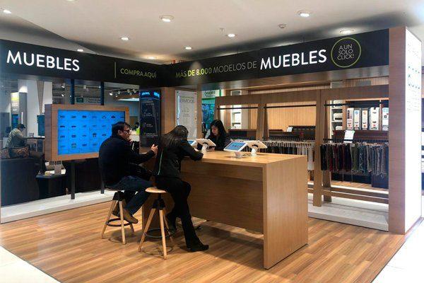 local de muebles Falabella chile - Falabella lanza su primera plataforma digital de muebles en Latinoamérica