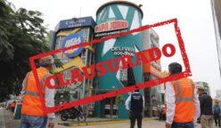 locales de comida rápida fueron clausurados 248x144 - Magdalena: Cuatro locales de comida rápida fueron clausurados por incumplir medidas sanitarias