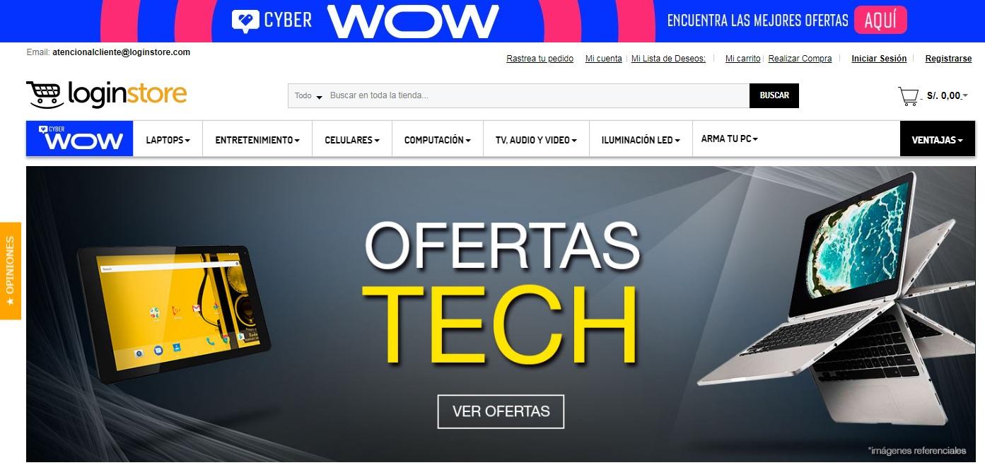 longinstore web peru - Perú: Loginstore anuncia venta de asistentes de voz para el hogar