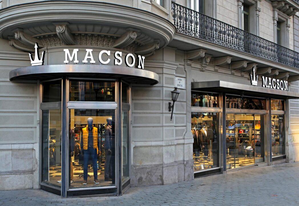macson 1 - Marca de moda masculina Macson desembarca en Ecuador con 2 nuevas tiendas